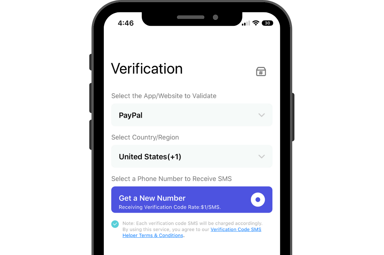 How to Get a PayPal Verification Code using a Secondary Phone Number