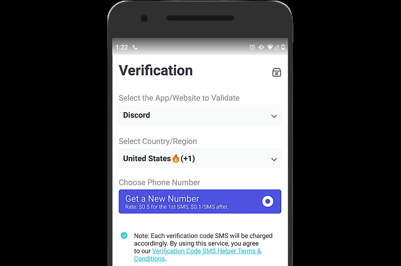 Discord verification number