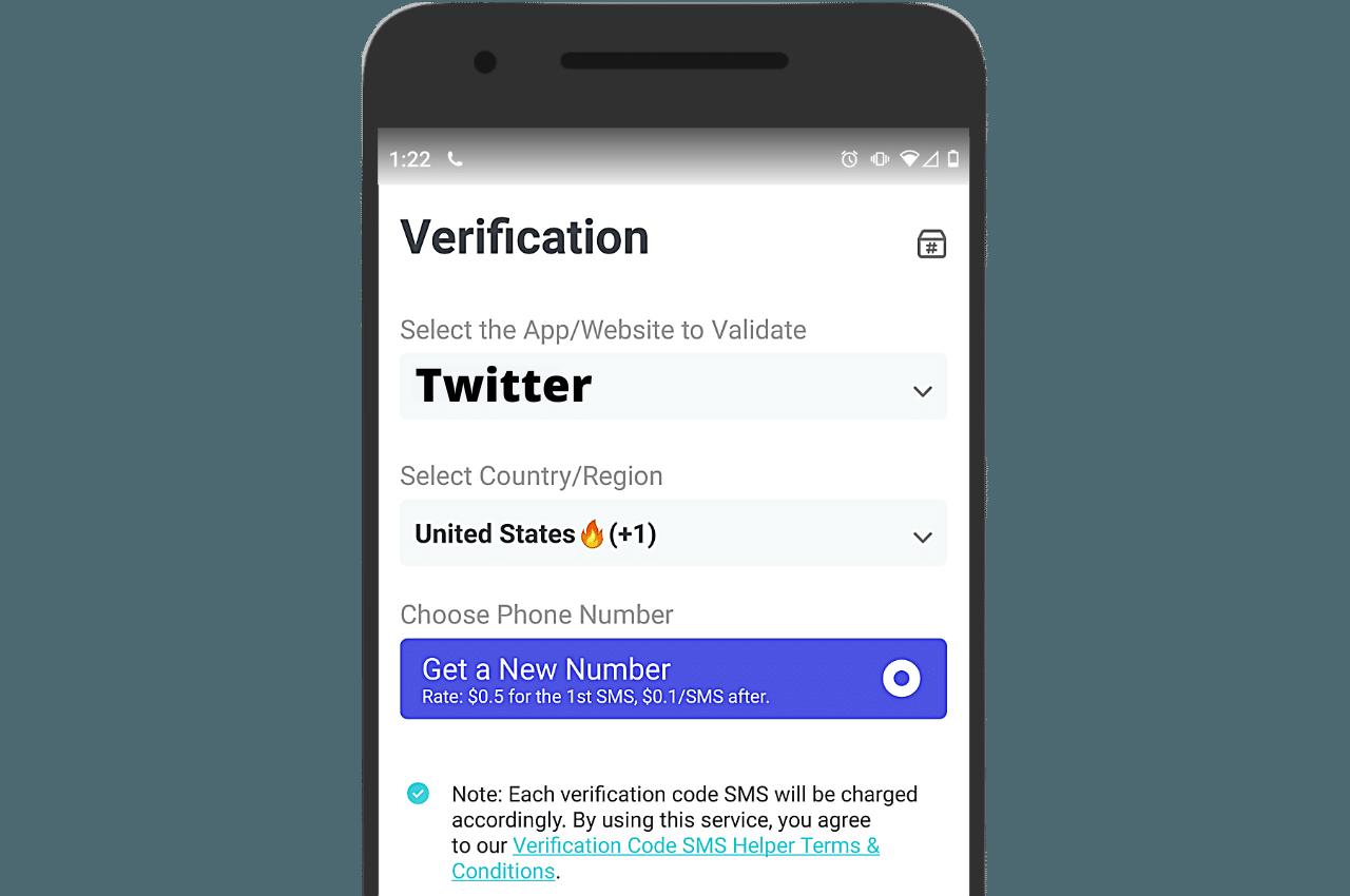 PingMe verification helper SMS
