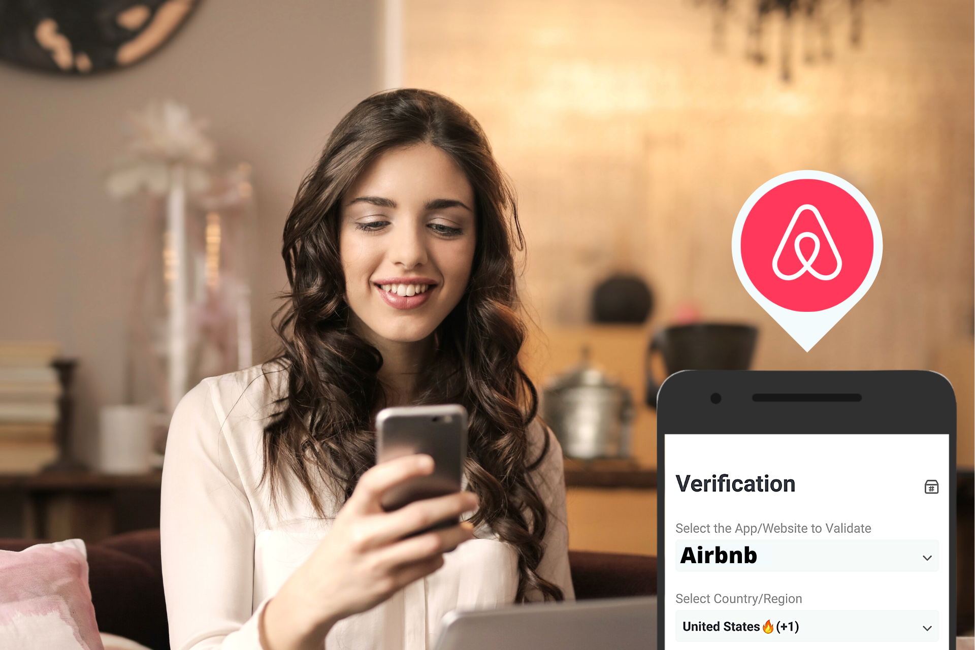 airbnb verification code