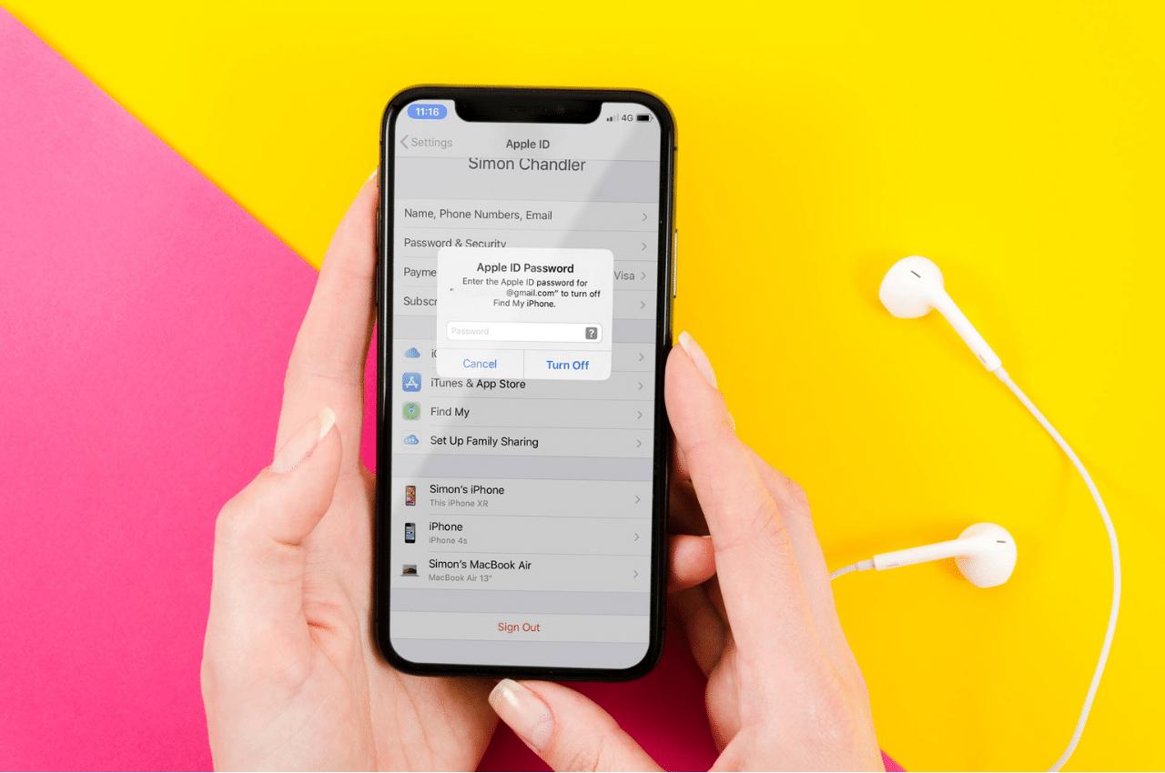 sms verification apple id